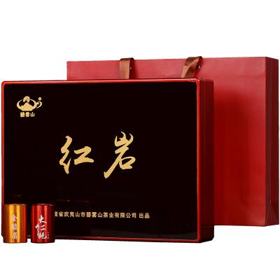 【碧雾山贵宾茶礼小罐装】九龙窠大红袍岩茶桐木关乳芽金骏眉红茶