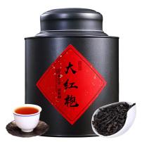 新茶大红袍茶叶正宗武夷山武夷岩茶浓香型乌龙茶罐装散装250g