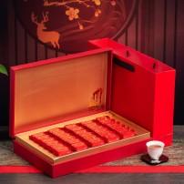 武夷大红袍茶叶高档礼盒浓香正宗武夷山岩茶300克小泡袋养胃新茶