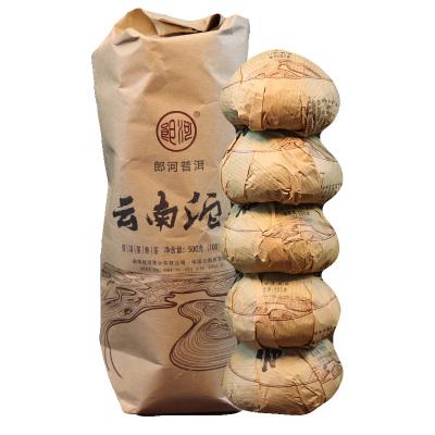 郎河普洱茶2017年云南沱茶 普洱茶 熟茶 单沱 100g/沱