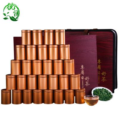 统祥一级浓香型铁观音茶叶乌龙茶安溪铁观音高档礼盒装新茶500g