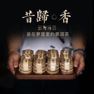 2019春茶云南临沧普洱茶生茶昔归古树茶春茶玲珑小茶饼迷你七子饼