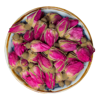 大朵平阴玫瑰花茶干玫瑰500g非特级云南墨红金边玫瑰花冠茶包
