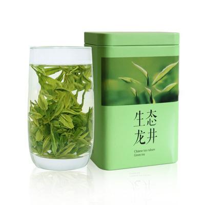 厂家批发 新茶 龙井绿茶 西湖茶叶 罐装125g 办公用茶【包邮】