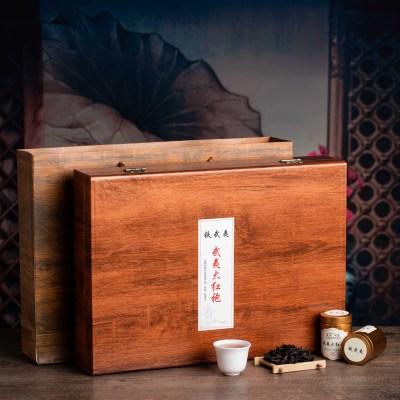正宗武夷山岩茶特级大红袍茶叶高档礼盒装肉桂乌龙茶浓香型小罐装