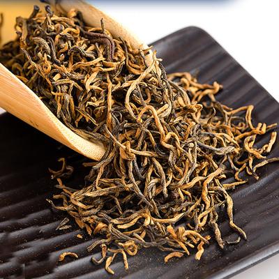武夷山新茶金俊梅红茶特级黄芽浓香型正宗金骏眉100g散装罐装茶叶