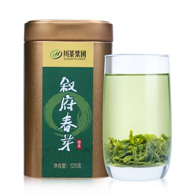 叙府春芽明前高山毛尖绿茶 金罐品质125g