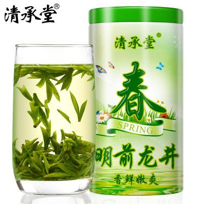 手工炒制下锅茶 2019新茶明前特级龙井茶绿茶清承堂3号100克