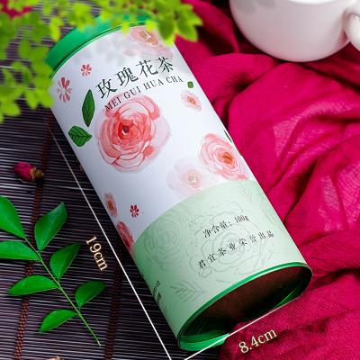 木冠茶叶 绿罐 玫瑰花花草茶玫瑰花茶200g