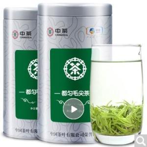 中茶都匀毛尖茶 2019新茶茶叶 毛尖绿茶 雨前春茶125g*2