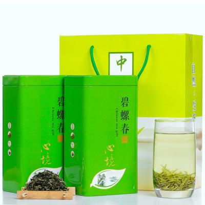 碧螺春2019新茶绿茶特级礼盒罐装散装浓香型明前春茶嫩芽茶叶500g