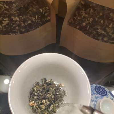 老北京传统茉莉花茶——飘雪