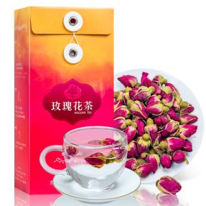 木冠茶叶 花自若 玫瑰花茶 花草茶 花茶 玫瑰花茶100g