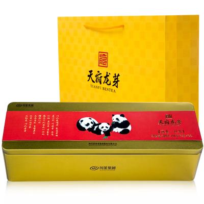 四川原产特级工夫红茶(冠龙)熊猫礼盒 108g