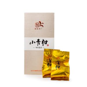 福海茶厂新会小青柑普洱茶柑普茶熟茶
