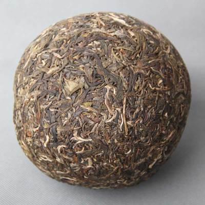 2011年大雪山 金瓜贡茶 普洱生茶古树纯料 1公斤瓜茶