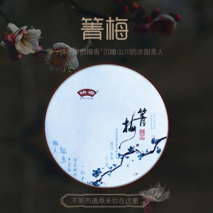 【新品开售】格香云南普洱茶生茶临沧梅子箐500年头春古树