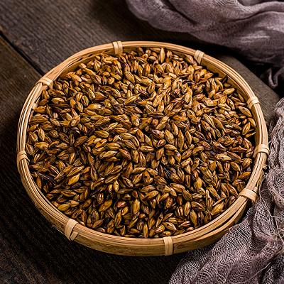 木冠茶叶 绿罐 大麦茶浓香原味型烘焙麦茶大分量罐装共1000g