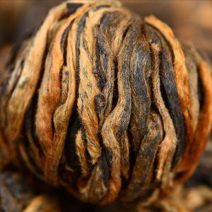 红茶 云南凤庆滇红工夫茶叶 手工红茶龙珠500g木桶装