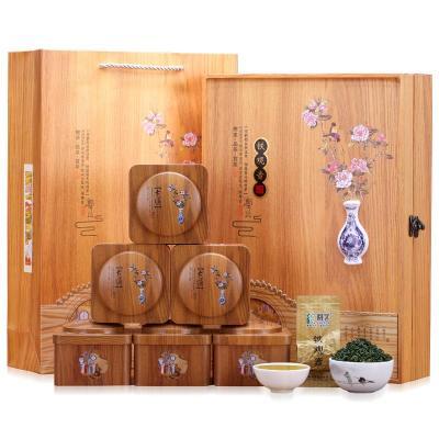 铁观音茶叶木艺礼盒装 安溪铁观音浓香型新茶秋茶乌龙茶袋装500g