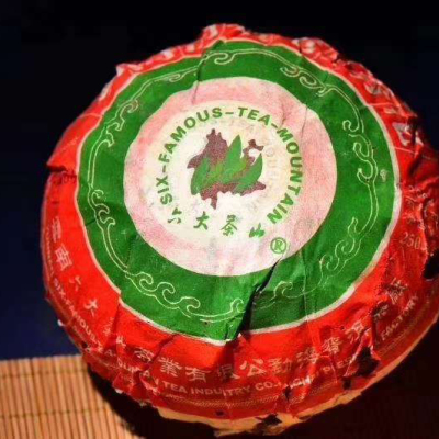 六大茶山勐海厂子开业第一青沱!六大茶山2006年出品,目前市场遗留的收藏品