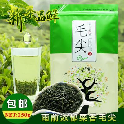 新茶 毛尖茶250g 袋装 雨前浓香茶叶 信阳毛尖 味浓耐泡【包邮】
