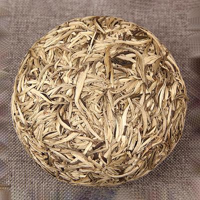 手工白茶500g 月光白单芽茶叶手工沱 大白毫 美人头瓜