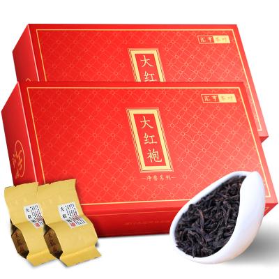 武夷山大红袍茶叶春茶 新茶岩茶袋装送礼乌龙茶礼盒装共400g