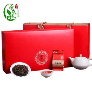 正宗武夷山一级蜜香型金骏眉红茶新茶礼盒装250克小袋装茶叶