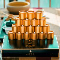 安溪铁观音茶叶新茶春茶浓香型兰花香小金罐装手工茶18罐礼盒装
