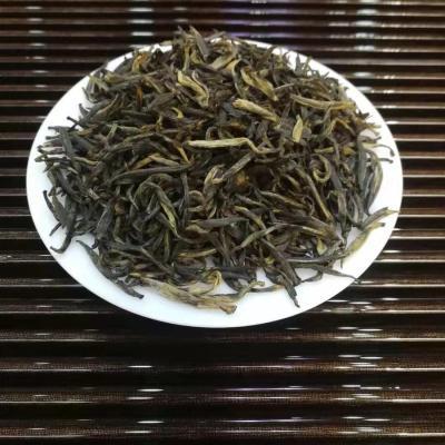 【金骏眉(珍藏茶)-50g】 杯杯含花果香味 是采摘明前嫩芽做原料,芽头饱满肥厚。汤色呈金黄色,非常通透。入