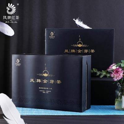 凤牌红茶 茶叶 云南滇红茶金芽六星茶叶礼盒装100g 2019年新茶