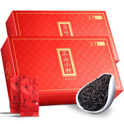 木冠茶叶 净香 武夷山正山小种红茶茶叶袋装送礼新茶礼盒装新茶360g