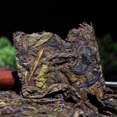 冰岛黄金叶生茶1000g 普洱茶砖  云南普洱茶生茶砖茶