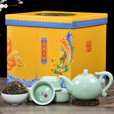 传统手工制作金骏眉红茶一级茶叶正宗袋装礼盒罐330克装送茶具2019新茶春茶