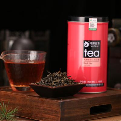 凤牌红茶 茶叶 云南凤庆滇红茶特级松针工夫红茶罐装100g