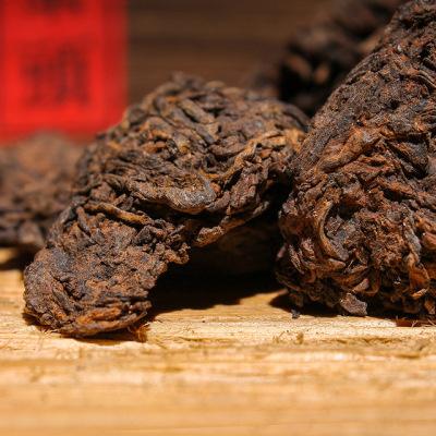 2010年勐海古树茶头礼盒装800g大份量厂家批发普洱茶熟老茶头普洱
