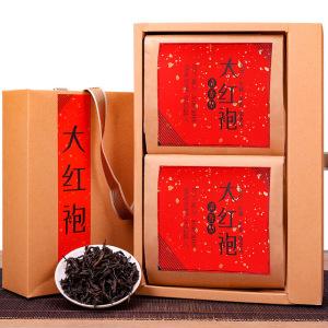 武夷山大红袍 浓香型 乌龙茶叶 感恩伴手礼 300g武夷岩茶 原产地直销