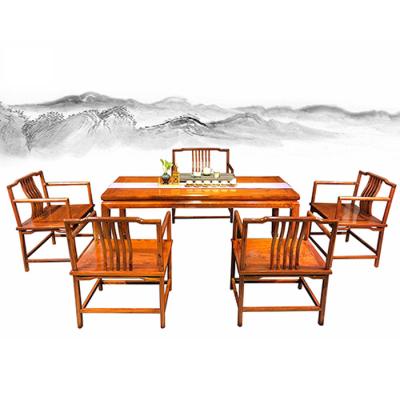 玄静茶桌(刺猬紫檀)