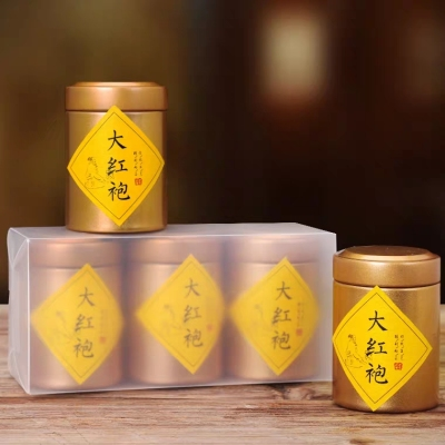 拍下15.9元 浓香型大红袍 茶叶 武夷岩茶 武夷山乌龙茶 散装小罐装