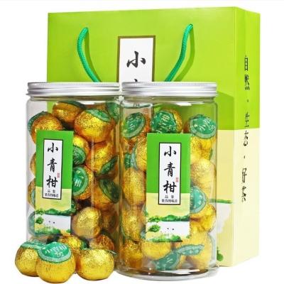 新会小青柑10年宫廷普洱茶叶小青柑500克