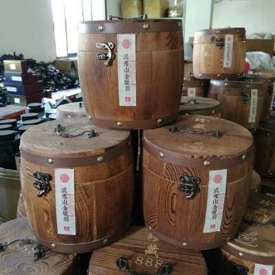 武夷山金骏眉蜜香型金骏眉红茶高档新茶散装茶叶礼盒装木桶装500克