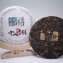 """2016年雪山青饼""""生茶""""200g"""