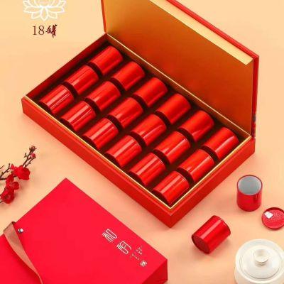 正岩大红袍茶叶礼盒装高档特级武夷岩茶中秋节肉桂 ,送礼佳品