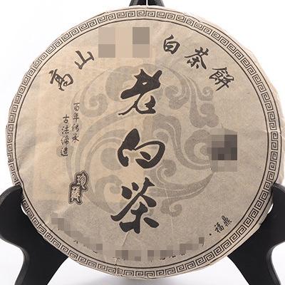 2014年福鼎的白茶寿眉饼陈年药香老白茶饼 老寿眉饼