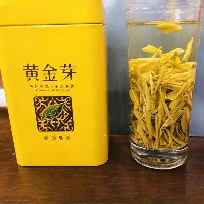 2019年新茶上市黄金芽50g绿茶罐装