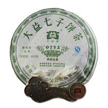 2007年大益 普洱茶 生茶 0752青饼357克/饼 勐海茶厂