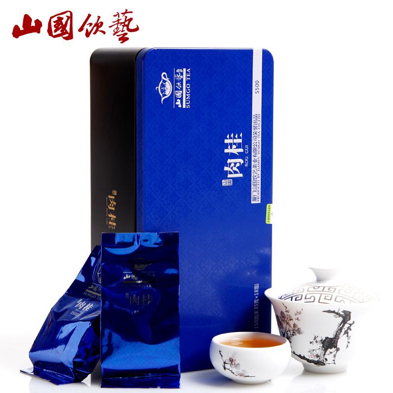 山国饮艺 茶叶 乌龙茶 岩茶 山国肉桂 S500 茶叶 150g