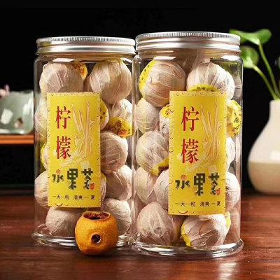 柠檬水果茶新包装网红茶罐装500克