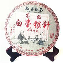 正品福鼎白茶白毫银针饼2012年全芽特级春茶药香陈香